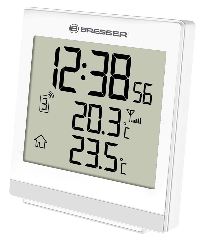 Bresser TemeoTrend SQ RC Weather Station, white