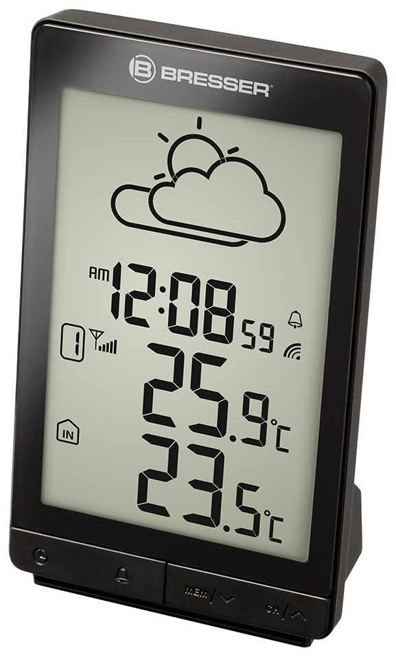 Bresser TemeoTrend STX RC Weather Station, black