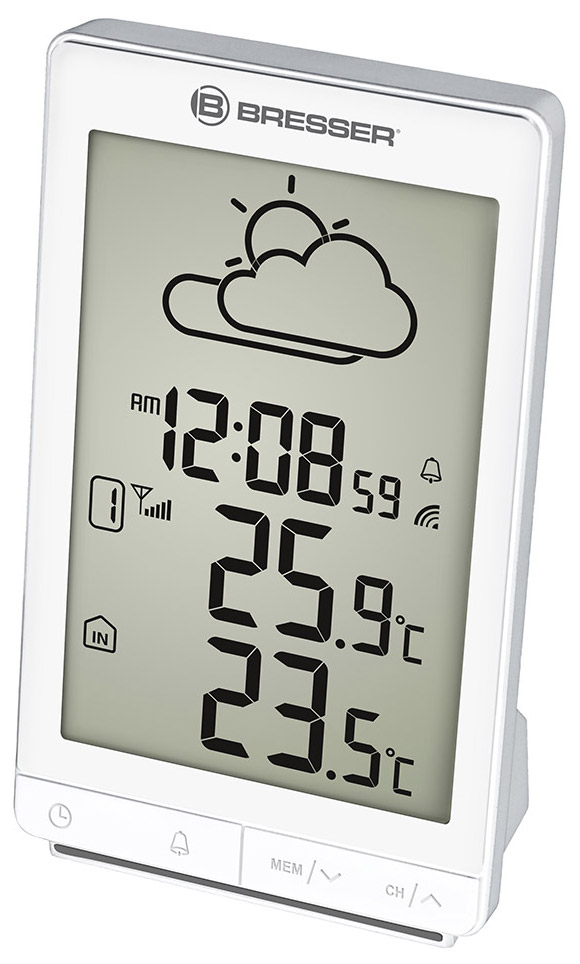Bresser TemeoTrend STX RC Weather Station, white