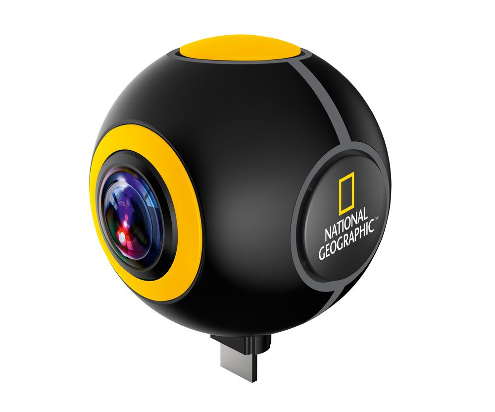 Bresser National Geographic HD 720° Android Action kamera