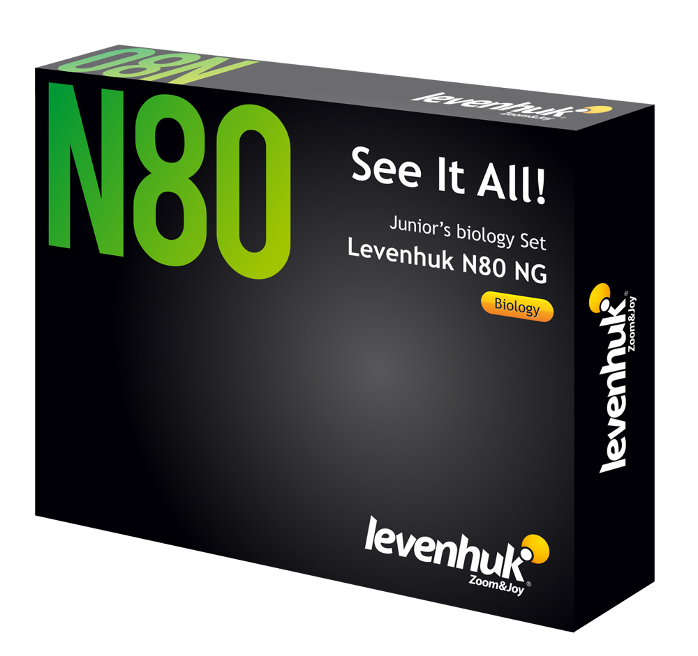 "Levenhuk N80 NG ""See it all"" Slides Set photo"
