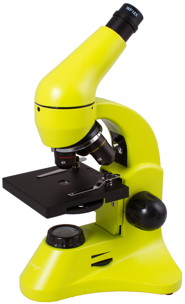 Levenhuk Rainbow 50L PLUS Lime Microscope