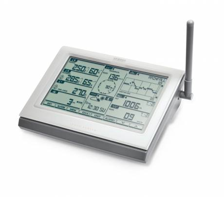 Oregon Scientific Ultra-Precision Professional Weather Station With an operating range of -40° C to +65° C.